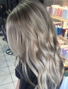 Dark and Silvery Ash Blonde