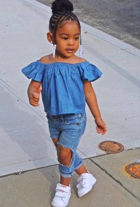 35 Amazing Natural Hairstyles For Little Black Girls-4396