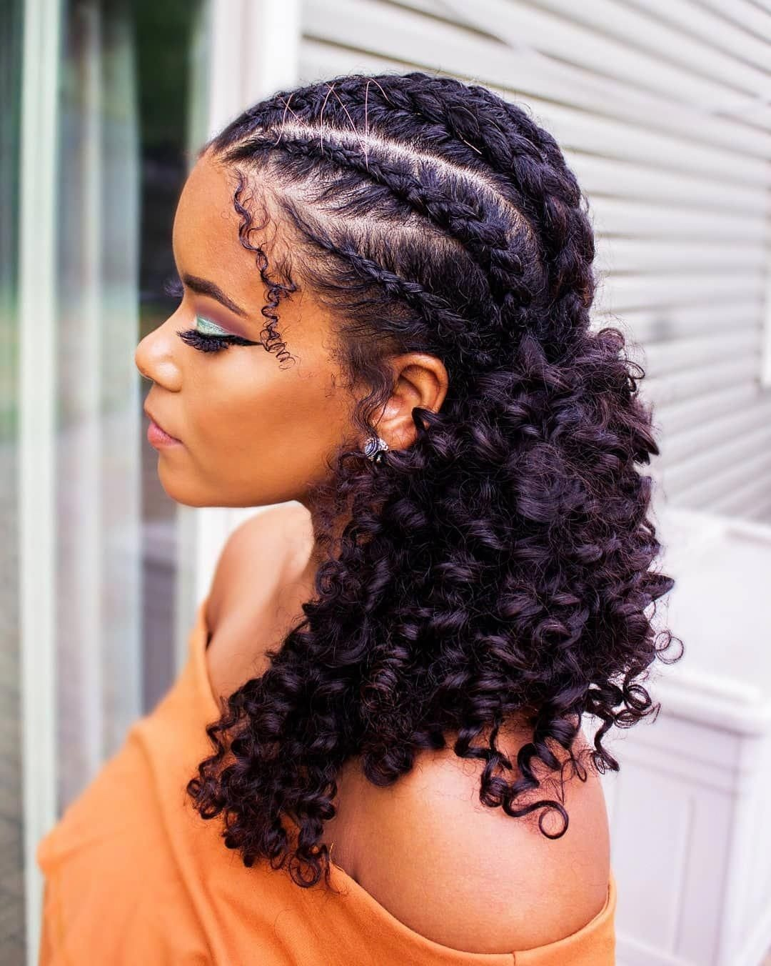 35 Natural Braided Hairstyles Without Weave