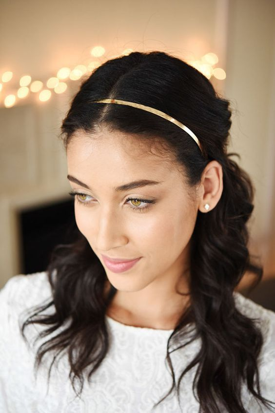 Headband Hairstyles Cute Hairstyles With Headbands
