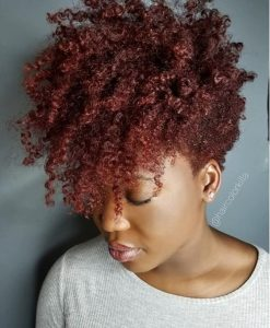 Red natural fro do'