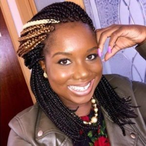 Ray of light crochet box braid