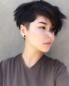 Low Maintenance Soft Butch Hairstyles