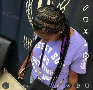 fishbone braids maze