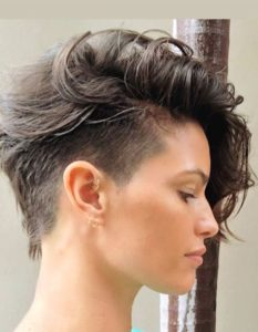 side undercut with fade