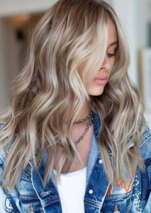 Warm Ash Blonde Hair