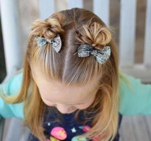 Adorable Mini Top Knots