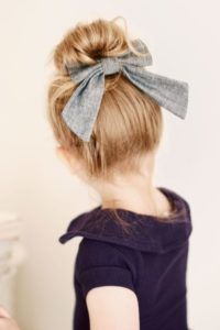 Ballet Bun with Bow
