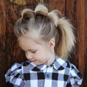 Bubble Braid Faux Hawk