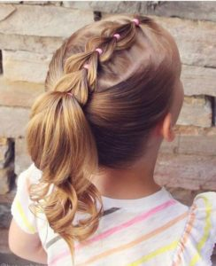 Mini Pull-Through Braid and Ponytail