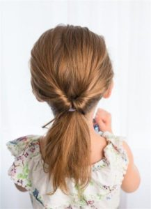 Pull-Through Ponytail