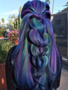 Stunning Peacock Braid