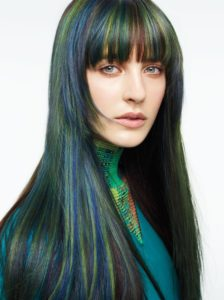 Subtle Peacock Highlights
