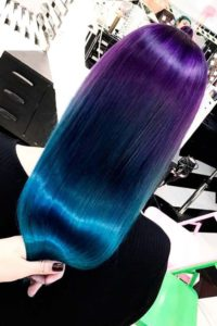 Super Sleek Peacock Ombre