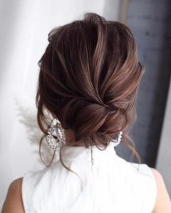 Chic Low Chignon