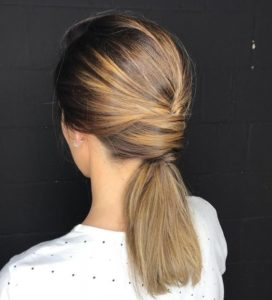 Low Wrap Around Ponytail