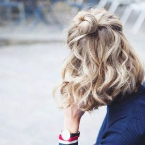 Mini Hair Bun and Waves