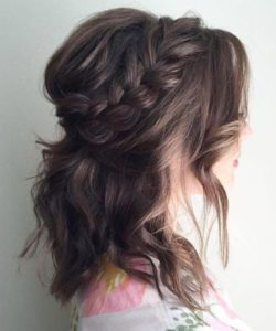 Relaxed Braided Crown and Relaxed Waves