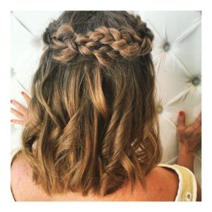 Twisted French Braids