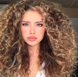 big hair spiral curls