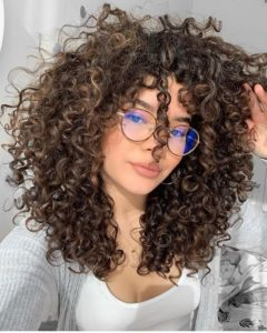 big natural curls