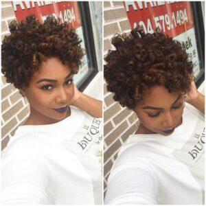 pixie curls crochet