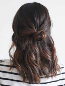 prom hairstyle for medium length hair