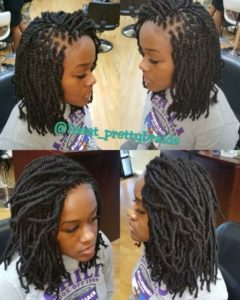 spring twist crochet hair