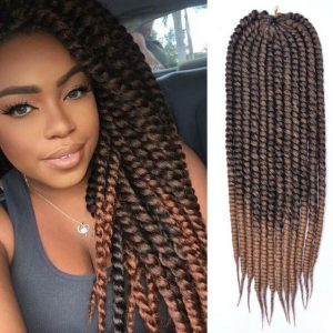 Brown Ombre Havana Twist Crochet