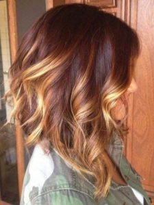 Curled Inverted Lob in Tortoiseshell Colours