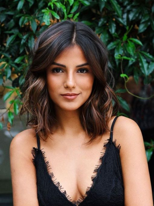 35 Pretty Collarbone Length Haircuts