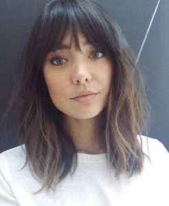 Tousled Layers with Bangs