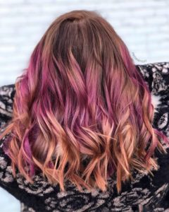 Peanut Butter and Jelly Ombre