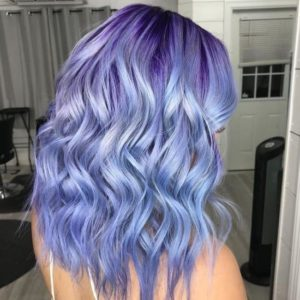 Pretty Periwinkle Waves