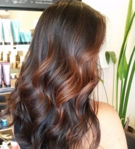 Root Beer Balayage