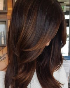 Rich and Subtle Chocolate Cake Hair