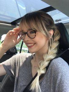 Long Bangs with Side Braid