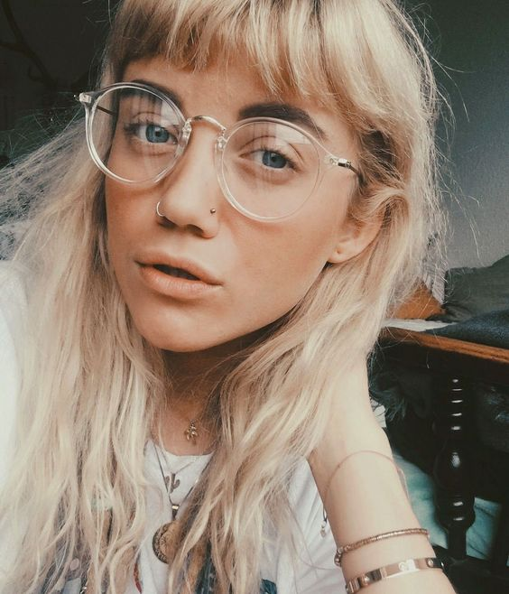 Best Bangs And Glasses Hairstyles