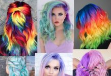 Best Unicorn Hair Color Looks