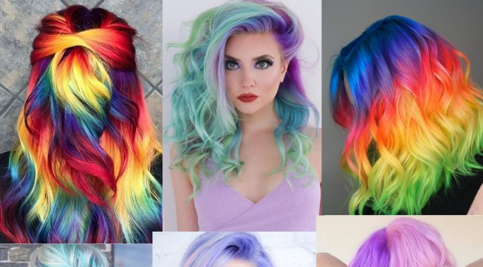 Best Unicorn Hair Color Looks