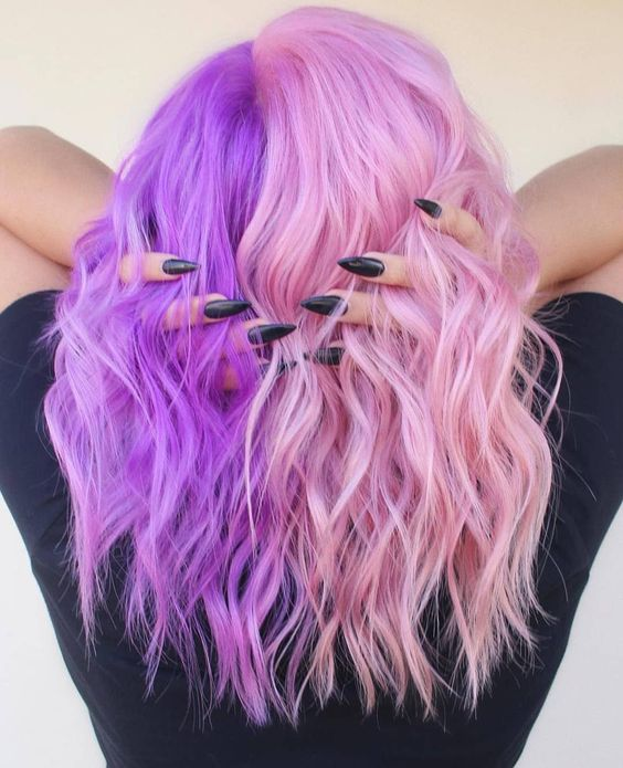 Light Pink Hair Color Ideas
