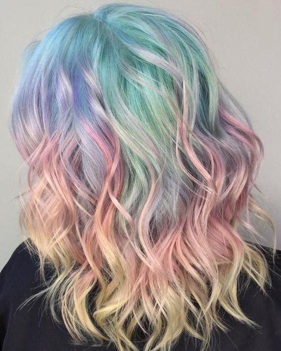 Unicorn Hair Dye Unicorn Hair Color Ideas