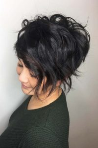 Short Asymmetric Bob with Loose Waves