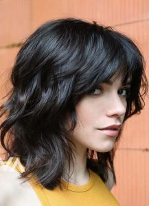 The Perfect Layered Shag Cut