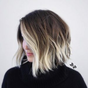 Ash Base With Icy Blonde Tips
