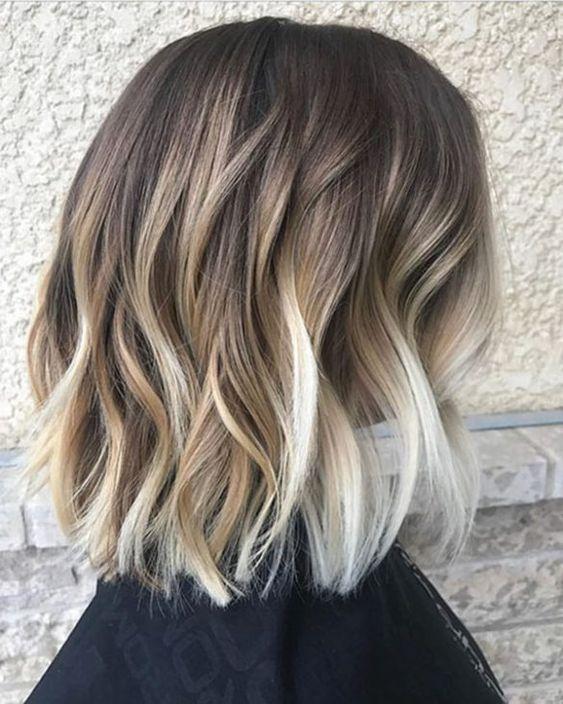 Light Blonde Hair Platinum Summer