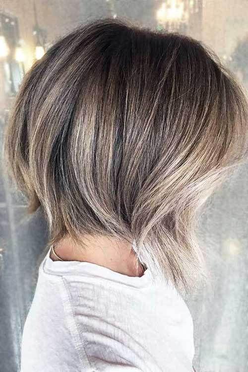 Blonde Balayage Short Hair Looks
