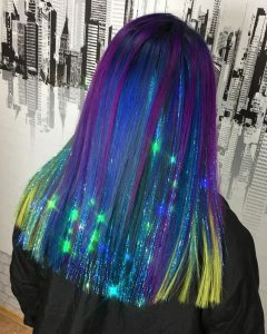 Galaxy Hair with Out of This World Tinsel