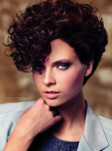 Pixie Cut with a Perm