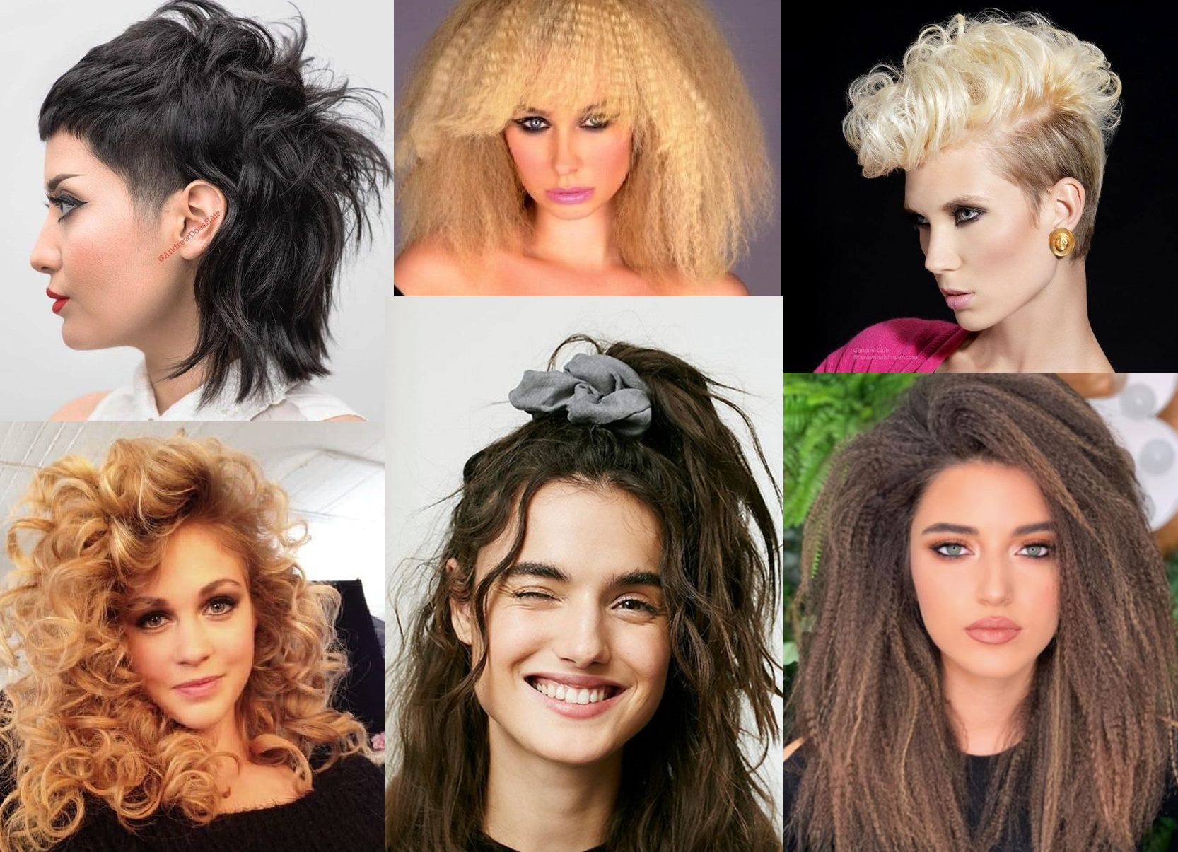 4s Hairstyles - 4 Hairstyles Inspired by the 194s
